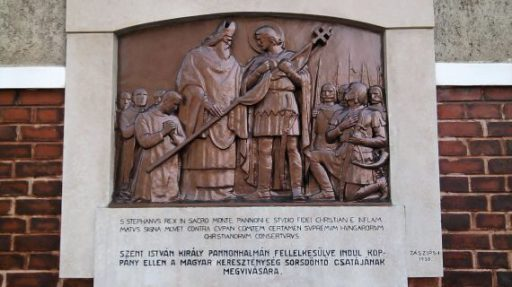 Szent István Dombormű